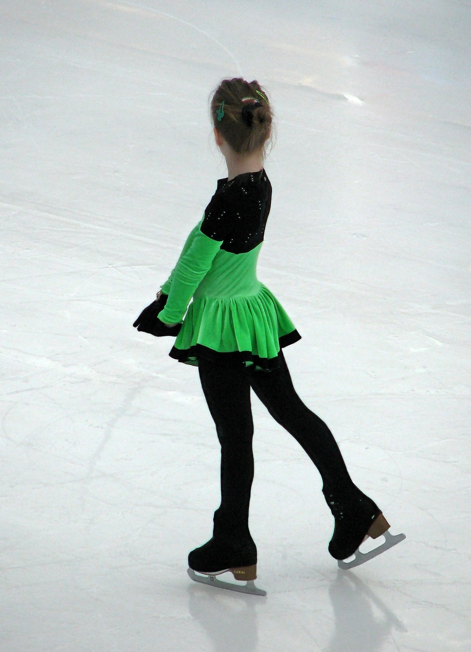 Ice-Skating Girl