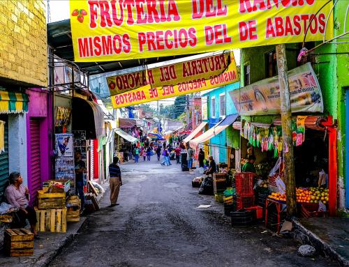 山麓の街 Amecameca